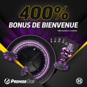 bonus casino de 400%